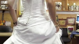 I pulled that dress up and woah that ass